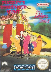 The Addams Family - Pugsley's Scavenger Hunt per Nintendo Entertainment System