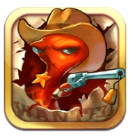 Squids Wild West per iPhone