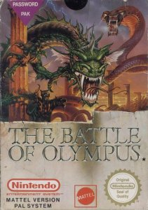 The Battle of olympus per Nintendo Entertainment System