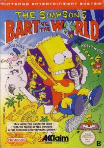 The Simpsons: Bart vs. the World per Nintendo Entertainment System