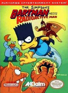 The Simpsons: Bartman Meets Radioactive Man per Nintendo Entertainment System