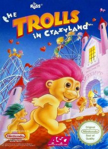 The Trolls in Crazyland per Nintendo Entertainment System