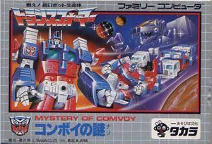 Transformers: Convoy no Nazo per Nintendo Entertainment System
