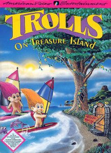 Trolls on Treasure Island per Nintendo Entertainment System