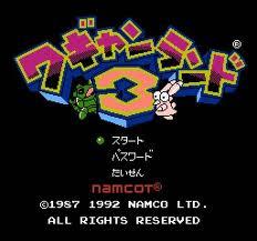 Wagyan Land 3 per Nintendo Entertainment System