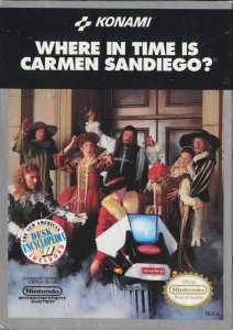 Where in Time is Carmen Sandiego per Nintendo Entertainment System