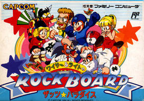 Wily and Light no Rock Board: That's Paradise per Nintendo Entertainment System