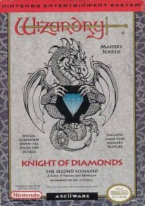 Wizardry II: The Knight of Diamonds per Nintendo Entertainment System