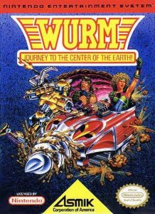 Wurm: Journey to the Center of the Earth per Nintendo Entertainment System