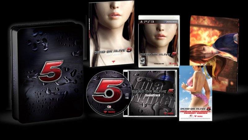 Dead or Alive 5 - Un'immagine della Collector's Edition americana