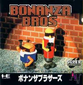 Bonanza Bros per PC Engine