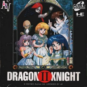 Dragon Knight II per PC Engine