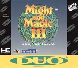 Might and Magic III: Isles of Terra per PC Engine