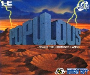 Populous: The Promised Lands per PC Engine