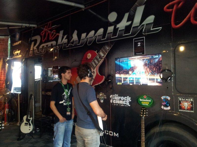 Rocksmith in tour