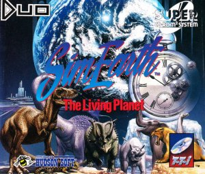 SimEarth: The Living Planet per PC Engine