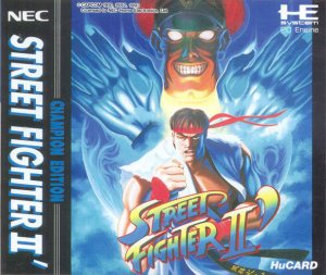 Street Fighter 2: Special Champion Edition per PC Engine