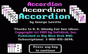 Accordion per PC MS-DOS