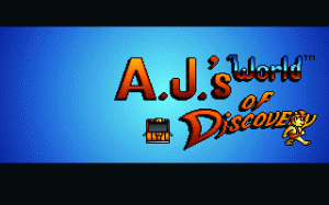 A.J.'s World of Discovery per PC MS-DOS