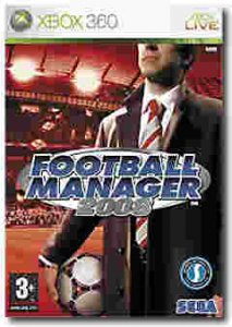 Football Manager 2008 per Xbox 360