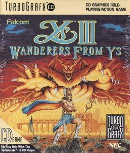 Ys III: Wanderers from Ys per PC Engine