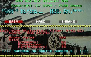 Ack-Ack Attack! per PC MS-DOS