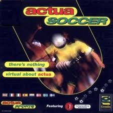 Actua Soccer per PC MS-DOS