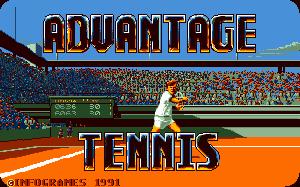 Advantage Tennis per PC MS-DOS