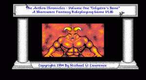 Aethra Chronicles per PC MS-DOS