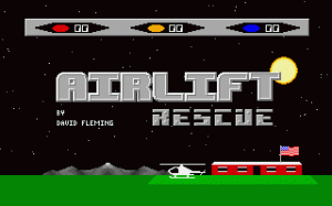 Airlift Rescue per PC MS-DOS