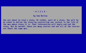 Aisle per PC MS-DOS