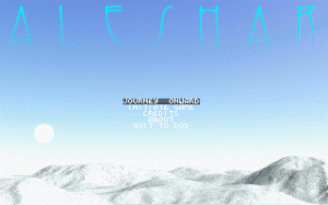 Aleshar: The World of Ice per PC MS-DOS