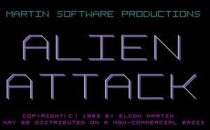 Alien Attack per PC MS-DOS
