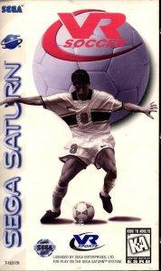 VR Soccer per Sega Saturn