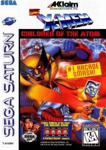 X-Men: Children of the Atom per Sega Saturn