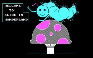 Alice in Wonderland per PC MS-DOS