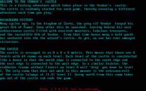 Amulet of Yendor per PC MS-DOS