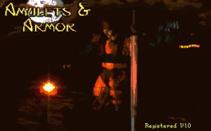 Amulets and Armor per PC MS-DOS