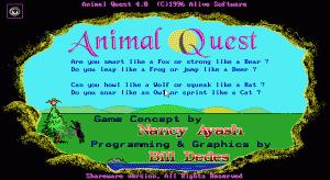 Animal Quest per PC MS-DOS
