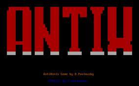 Antix per PC MS-DOS