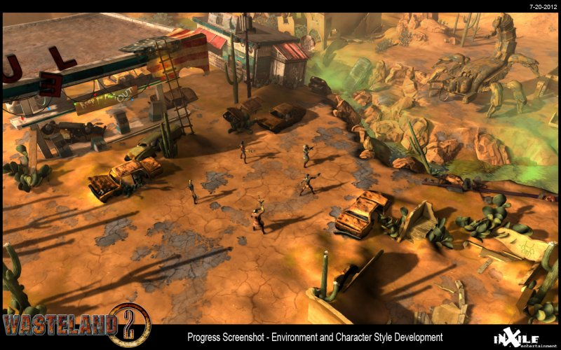 Wasteland 2 - Il primo screenshot