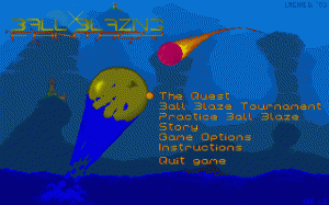 Ball Blazing Fantasy per PC MS-DOS