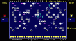 Balloon Challenge per PC MS-DOS
