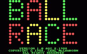 Ball Race per PC MS-DOS