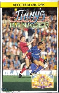 Jimmy's Soccer Manager per Sinclair ZX Spectrum