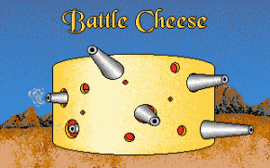 Battle Cheese per PC MS-DOS