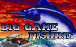 Big Game Fishing per PC MS-DOS