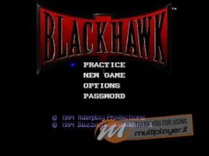 Black Hawk per PC MS-DOS