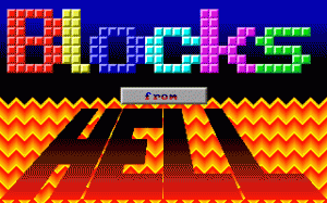 Blocks from Hell per PC MS-DOS