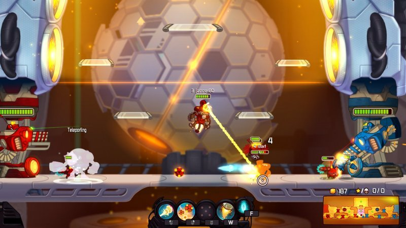 Awesomenauts sarà disponibile su Steam dal 1 agosto